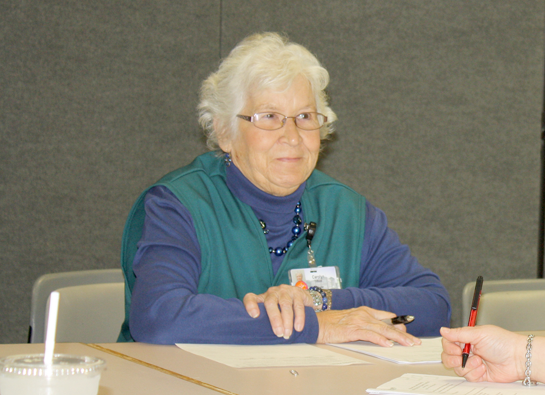 Carolyn Tilford, Phelps Health AVS volunteer