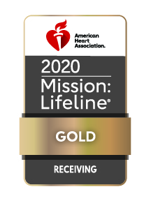 Mission: Lifeline Gold Receiving Award