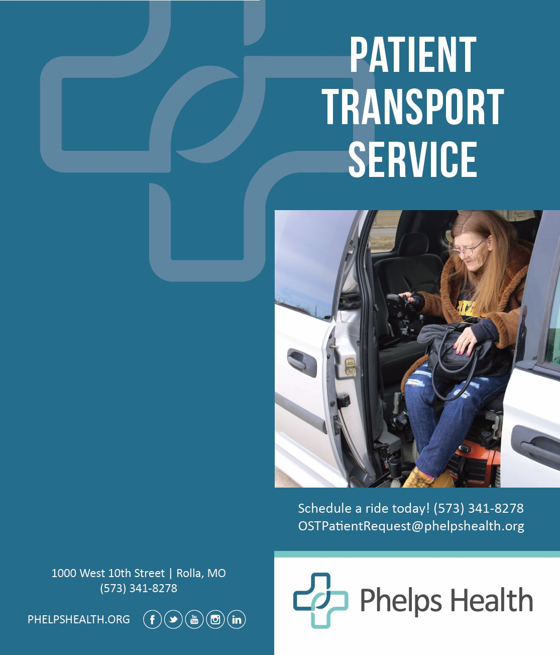 patient transport brochure