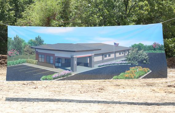 Artist rendering of the new Phelps Health Medical Group in Salem