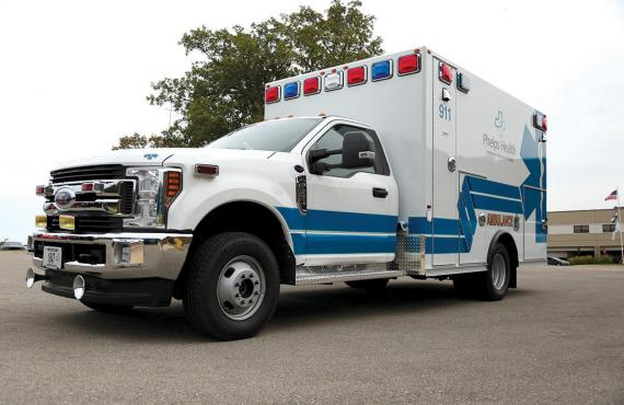 Phelps Health ambulance